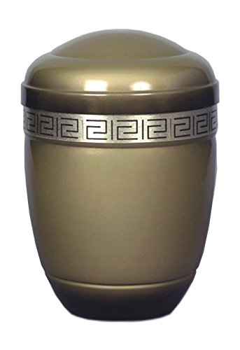 (Aluminium Cremation urn with a Strap)