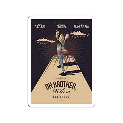 BreathNenStore Sticker Television Show O Brother Where Art Thou Tv Shows Series (3