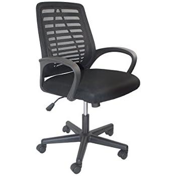 Amazon.com: Mid Back Mesh Ergonomic Computer Desk Office Chair ...