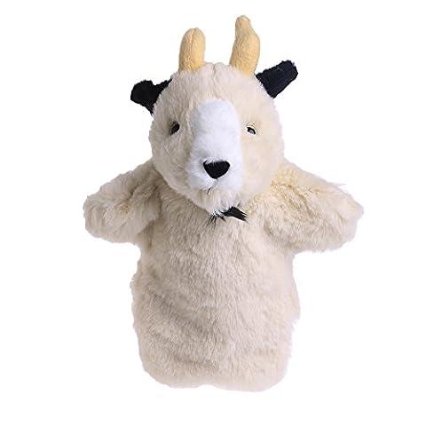 Magicub Kid Animal Hand Finger Puppet Plush Goat Doll Baby Development Teaching Toys 2# - Horse Puppet Kit