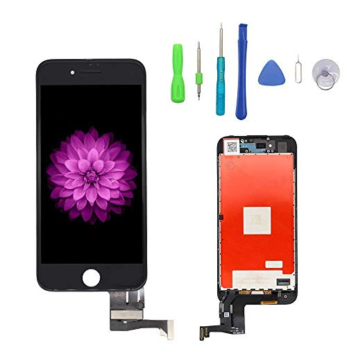 Screen Replacement for iPhone 7 Plus Black for LCD Display & Touch Screen Digitizer Frame Assembly Set with 3D Touch Free Repair Tool by FFtopu (Image #6)
