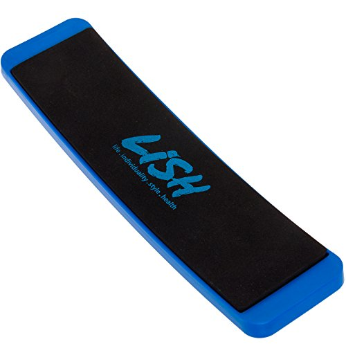 [Turning Board for Dancers - Ballet Spin Pirouette Training Tool by LISH (Blue)] (Ice Skating Spin)