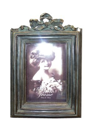 ukgiftstoreonline Vintage Style Rustic Metal Lace Love Heart Photo Frame 3 x 3 New Boxed