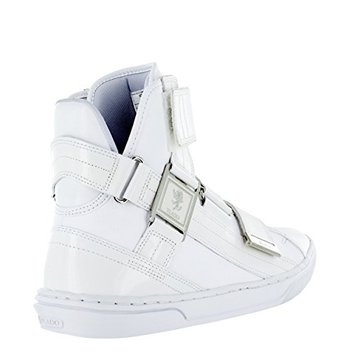 VLADO Footwear Men's Aristocrat II Leather High Top Sneakers White buy cheap footaction vBh9FoA8QT