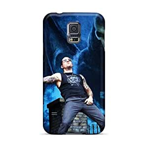 Protector Hard Phone Case For Samsung Galaxy S5 (jFT781eGMQ) Customized Attractive Avenged Sevenfold Band A7X Image