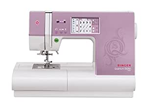 Singer | Quantum Stylist 9985 Computerized Portable Sewing Machine 960-Stitches Including Built-in Lettering,Interactive Color-Touch LCD Screen, Bonus Accessories, makes Customizing Projects Easy