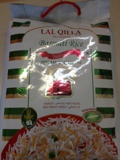 Basmati Rice Lal Quila, 160-Ounce by Quila
