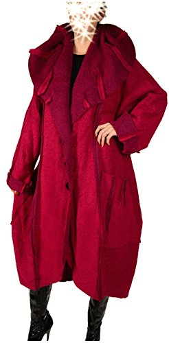 Mujer Chaqueta Italy Donna Parka para q1wgn5xawC