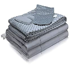 "MAXTID Premium Weighted Blanket 60""x80"" 20lbs Queen Size 