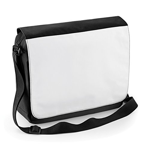 Plain Bagbase For Perfect Black Bag Printing Messenger 8wCqd