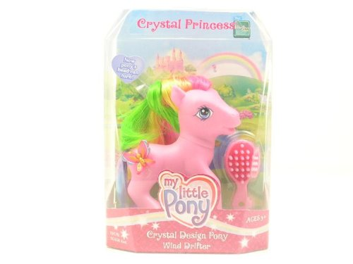 Wind Drifter Crystal Design Pony