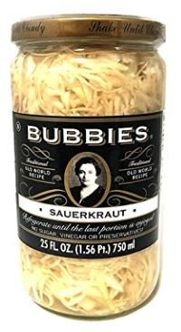 Bubbies Sauerkraut 25 oz