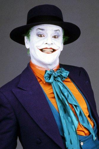 Jack Nicholson Batman 24X36 Poster Classic Studio Portrait As The Joker Striking at Gotham City Store