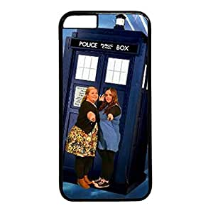 iCustomonline Doctor Who Custom Black Plastic Hard Back Cover for iPhone 6( 4.7 inch)