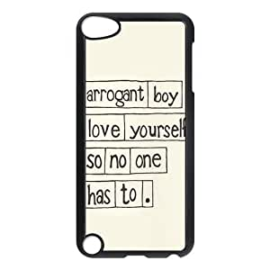 All Time Low Back Cover Case for New iPod Touch 5th Generation,Protective All Time Low Hard Plastic Back Fits Cover Case for iPod Touch 5, 5G 5th Generation