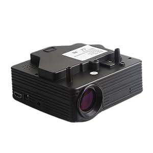 Amazon.com: Lightinthebox?Mini HD Home LED Home Theater Projectors 640x480 with VGA USB SD HDMI ...