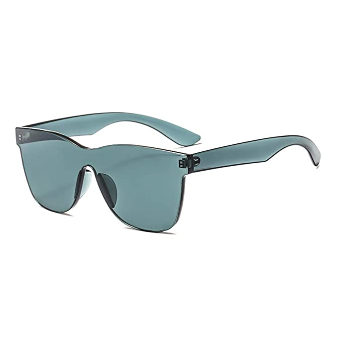 Sonnenbrillen Mode Retro Männer Unisex Coole Kunst Transparente