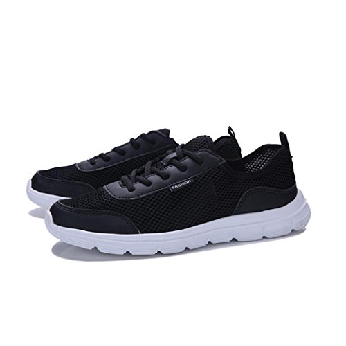 Laufschuhe Jogging Schwarz Shoes Sportschuhe Männer Schuhe Couple Herren Ultraleicht Sneakers Sportschuhe Turnschuhe Btruely Atmungsaktiv Fitnessschuhe Schnürung Running Outdoorschuhe Belüftung fIU1w