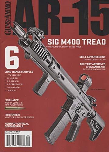 Guns & Ammo Magazine AR-15 2019 Sig M400