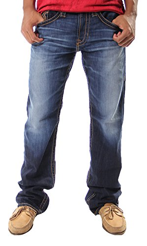 Big Star Pioneer Regular Boot in 6 Year Capitan Jeans (36L) (Big Star Jeans Mens Pioneer)