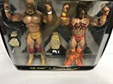 HULK HOGAN vs ULTIMATE WARRIOR WWE Limited Edition Classic Superstars action figures with Championship Belts