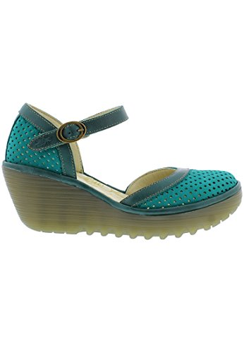 Closed Toe Fly Grün Heels Womens Yupi840fly London z4IqntHqB
