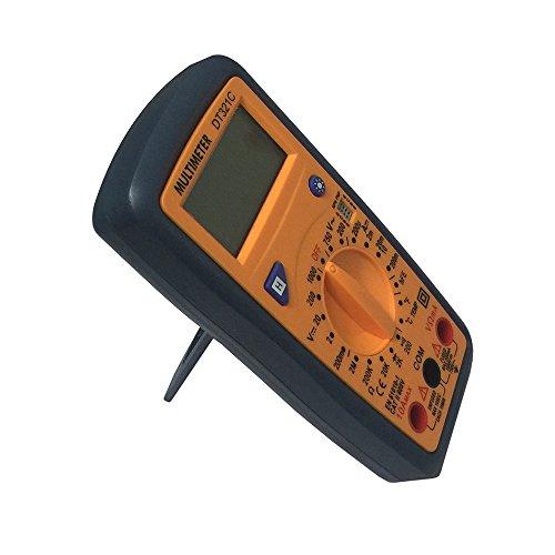 OLSUS DT321C LCD Handheld Digital Multimeter, Using for Home and Car - Black + Yellow by OLSUS (Image #4)