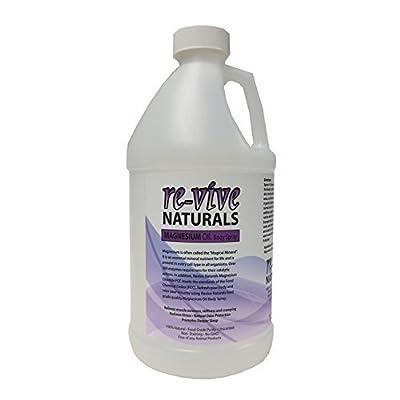Re-vive Naturals Magnesium Oil Refill 64 Oz Food Grade Quality