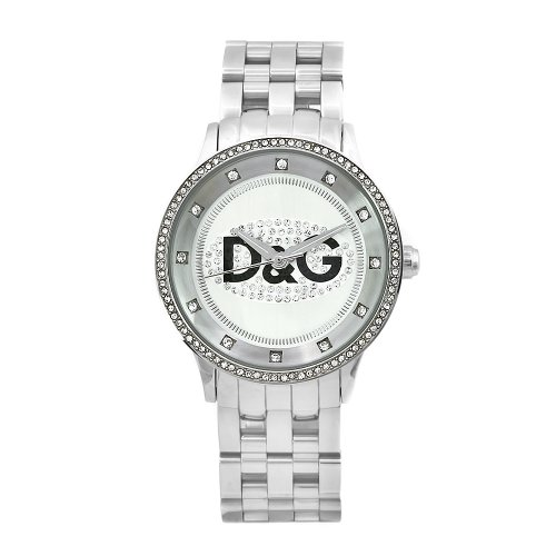 Gabbana Time Watches (D&G Dolce & Gabbana Women's DW0145 Prime Time Stainless Steel Crystal Dial Watch)