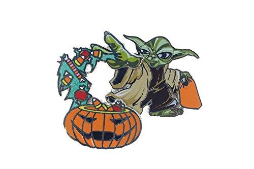 (Disney Yoda and Pumpkin Halloween)