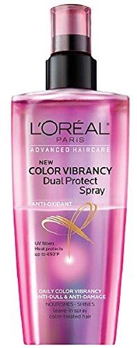 - L'Oreal Color Vibrancy Dual Protect Spray 5.1 FL OZ
