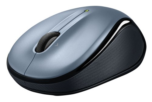 Logitech Wireless Mouse M325 with Designed-For-Web Scrolling - Light Silver