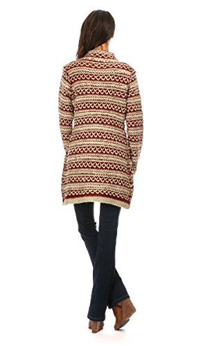 Maille Love - Cardigan NETTLE - Women - S/M - Beige by Maille Love (Image #2)