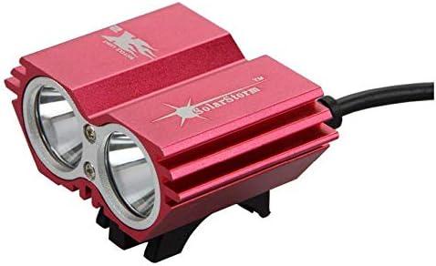 Bike Light 7000Lumens 2x XM-L U2 LED Cycling Headlight flash light+Back Safety
