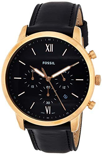 Fossil Analog Black Dial Men's Watch-FS5381