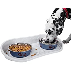 PETMAKER Non Skid Pet Bowl Tray