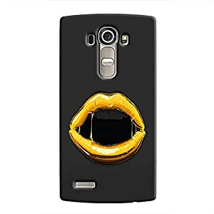 Cover it up Gold Lips Hard Case for LG G4 - Multi Color