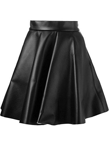 MDD03X66499 MSGM Jupe Noir Femme Laine 5qS8vfw