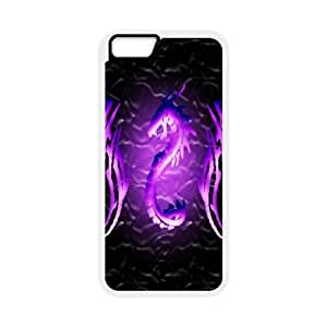 iphone6 4.7 inch Phone Case White Dragon tribal WQ5RT7492740