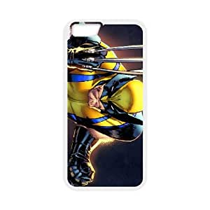 iPhone 6 Plus 5.5 Inch Cell Phone Case White Wolverine VXI Plastic Phone Cases Protective