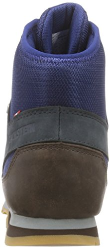 DachsteinKurt DDS - Stivali Classici Imbottiti a Gamba Corta Uomo Blu (Blau (Midnight Blue/Dark Oak 4058))