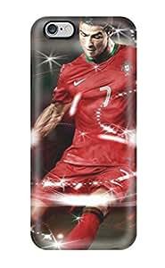 High Quality YQEIEpI4550IDHAS Cristiano Ronaldo Football Case For Iphone 6 Plus(3D PC Soft Case)