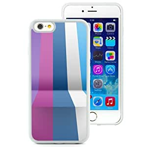 New Beautiful Custom Designed Cover Case For iPhone 6 4.7 Inch TPU With Stripes In Perspective (2) Phone Case