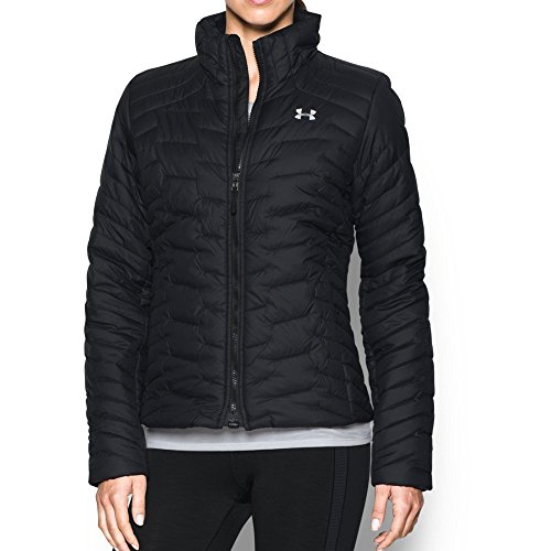 Under Armour Women's ColdGear Reactor Jacket, Black/Black, Small by Under Armour