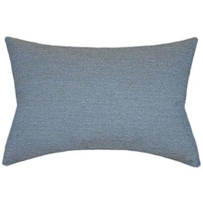 TPO Design, Sunbrella Spectrum Denim Indoor/Outdoor Textured Patio Pillow 12x18 (Rectangle): Home & Kitchen