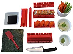 TIGERSUSHI Tigersushi he is based out of Las Vegas were some of the greatest sushi making chefs in the world exist. Our custom sushi making roller kit was designed with the input of over 11 professional sushi makers working in the high end su...