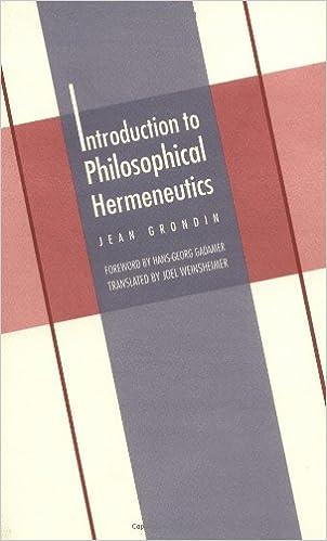 Introduction to Philosophical Hermeneutics (Yale Studies in