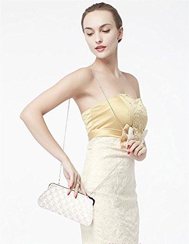 À Bridal's Styliste Soir CWE0047 Wave Only Portefeuille Sacs Folds Sacs Bridesmaid LeahWard® Main Fashion Ivory Petit Sac Main CWE00139 Femme 4xtqCvxISw