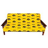 College Covers Iowa Hawkeyes Futon Cover, Full
