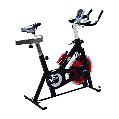 Stationary Bike (Black/Red) - 8